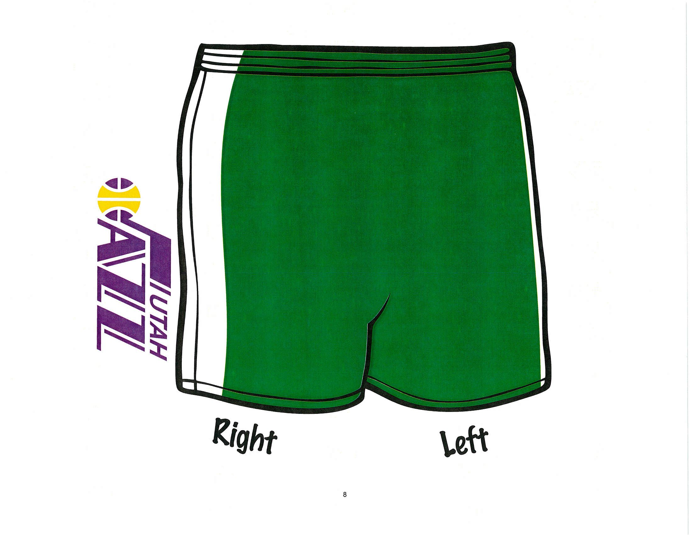 Jr. Jazz Shorts 17-18