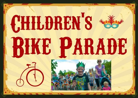 Childrens Bike Parade - postcard new