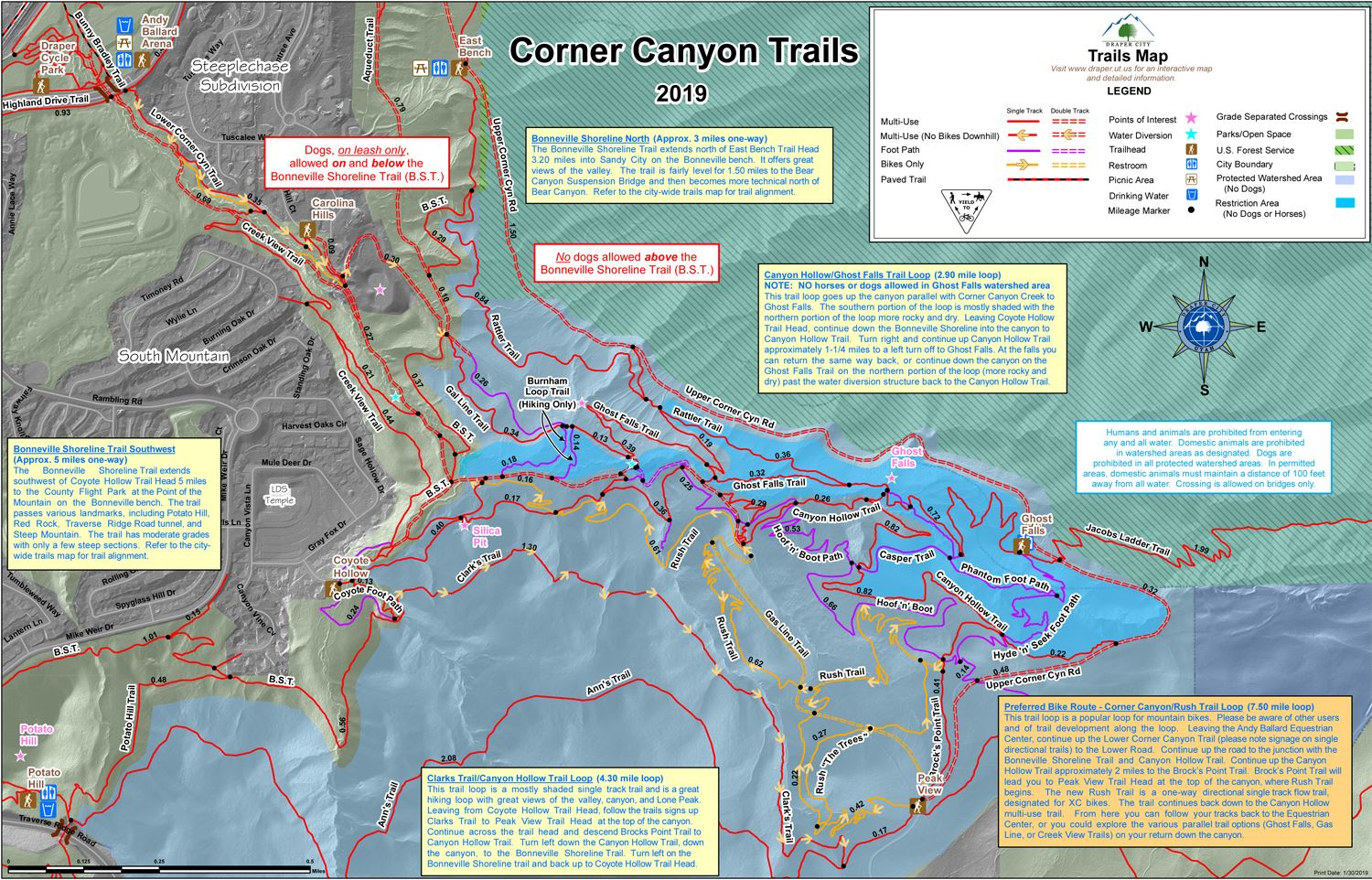 Corner Canyon Trails Map 2019_201902140922312989