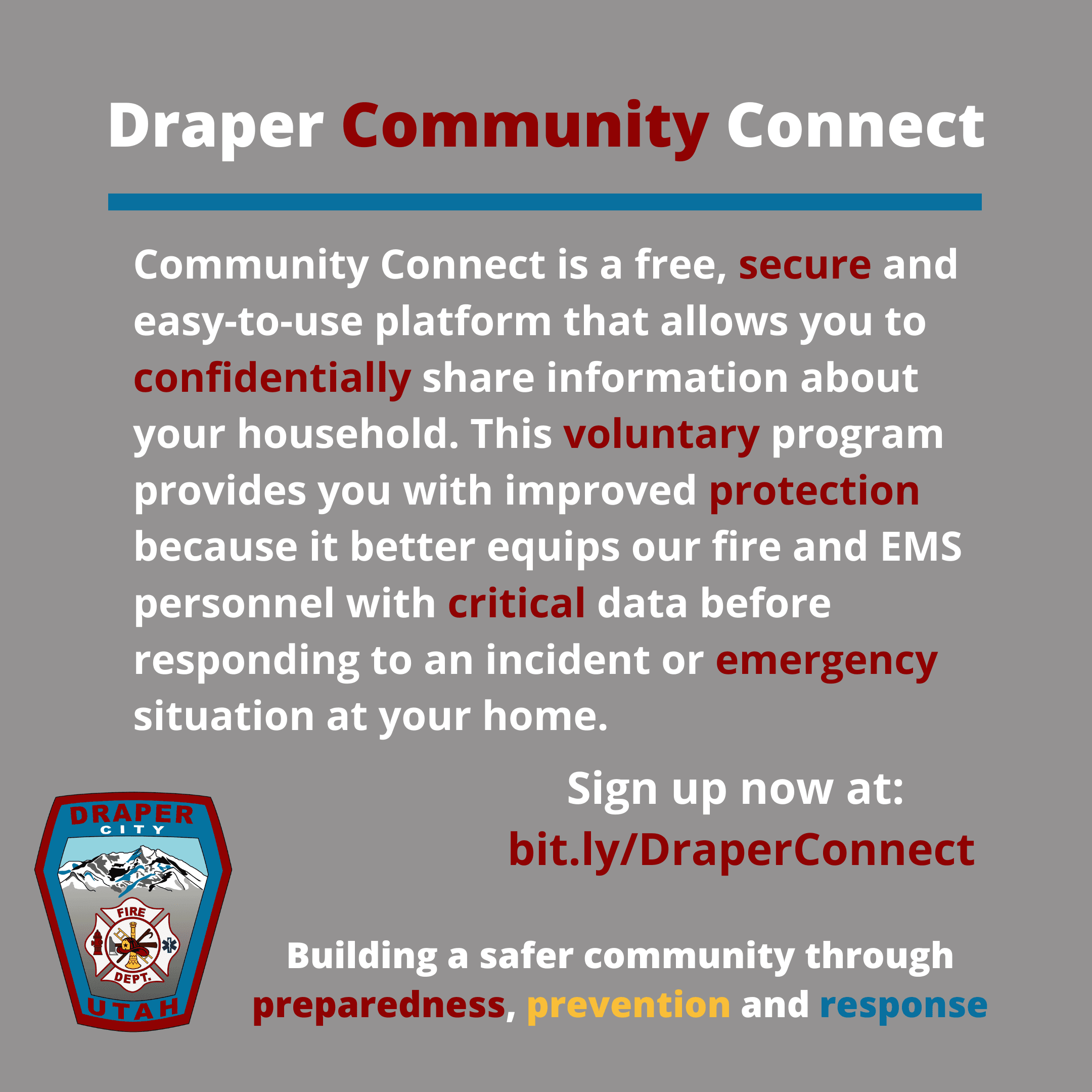 Draper Community Connect_Instagram Post