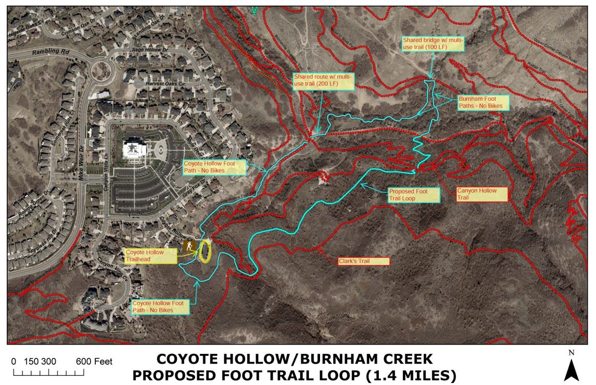 coyote hollow trail loop Opens in new window