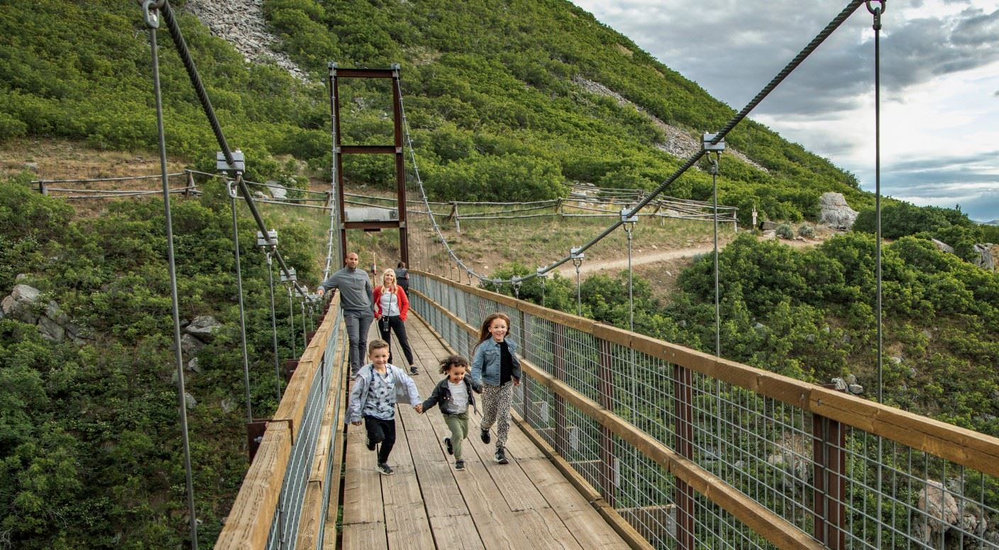 Draper Bear Canyon Suspension Bridge